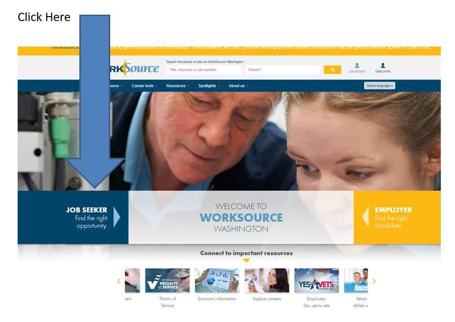 WorkSourceWA.com screenshot homepage
