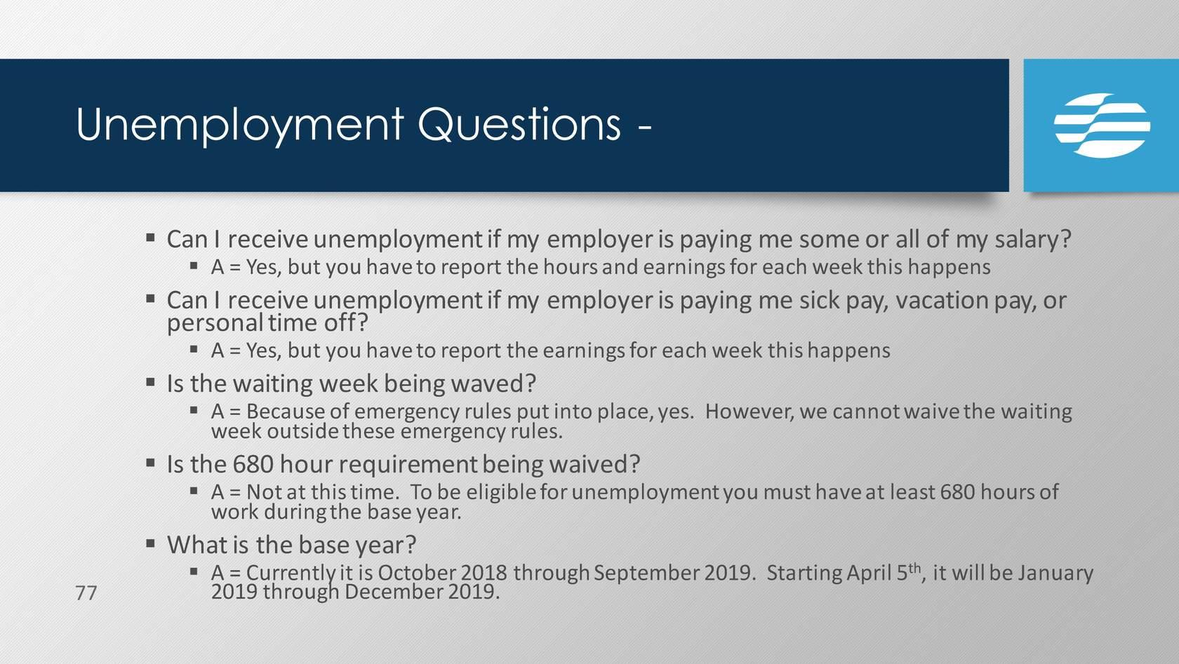 FAQ Slide 1