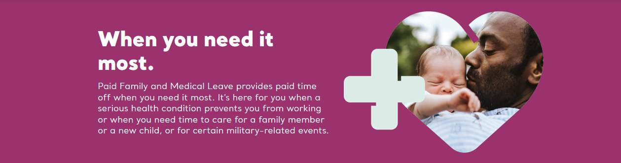 Paid Family Medical Leave banner