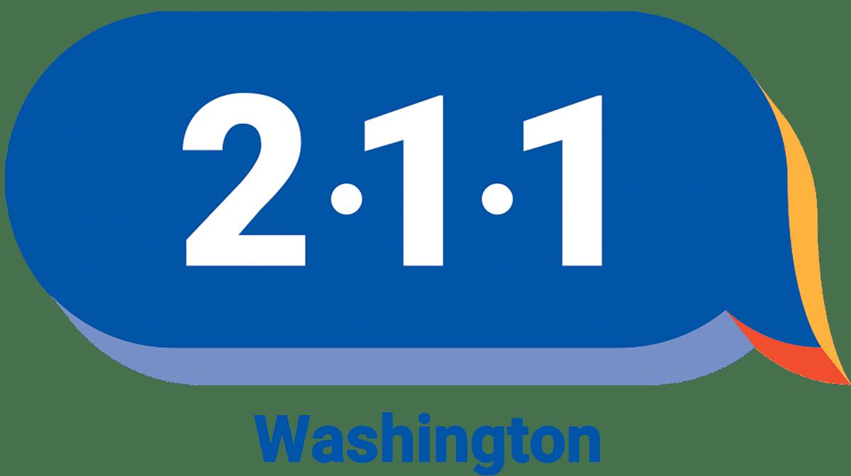 WAshingon 2-1-1 logo